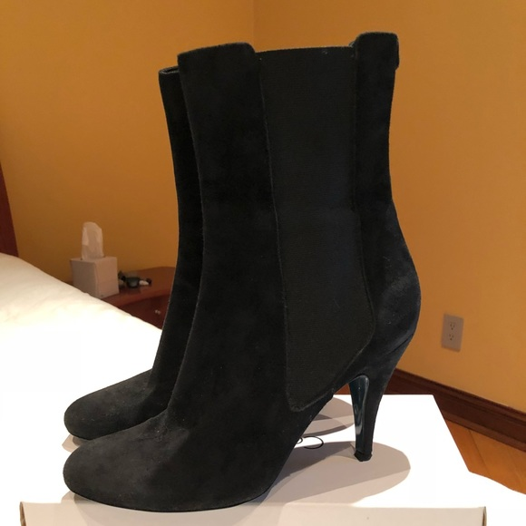 2415637956 Patrizia Pepe Shoes | Suade Cute Booties Sz 409 | Poshmark